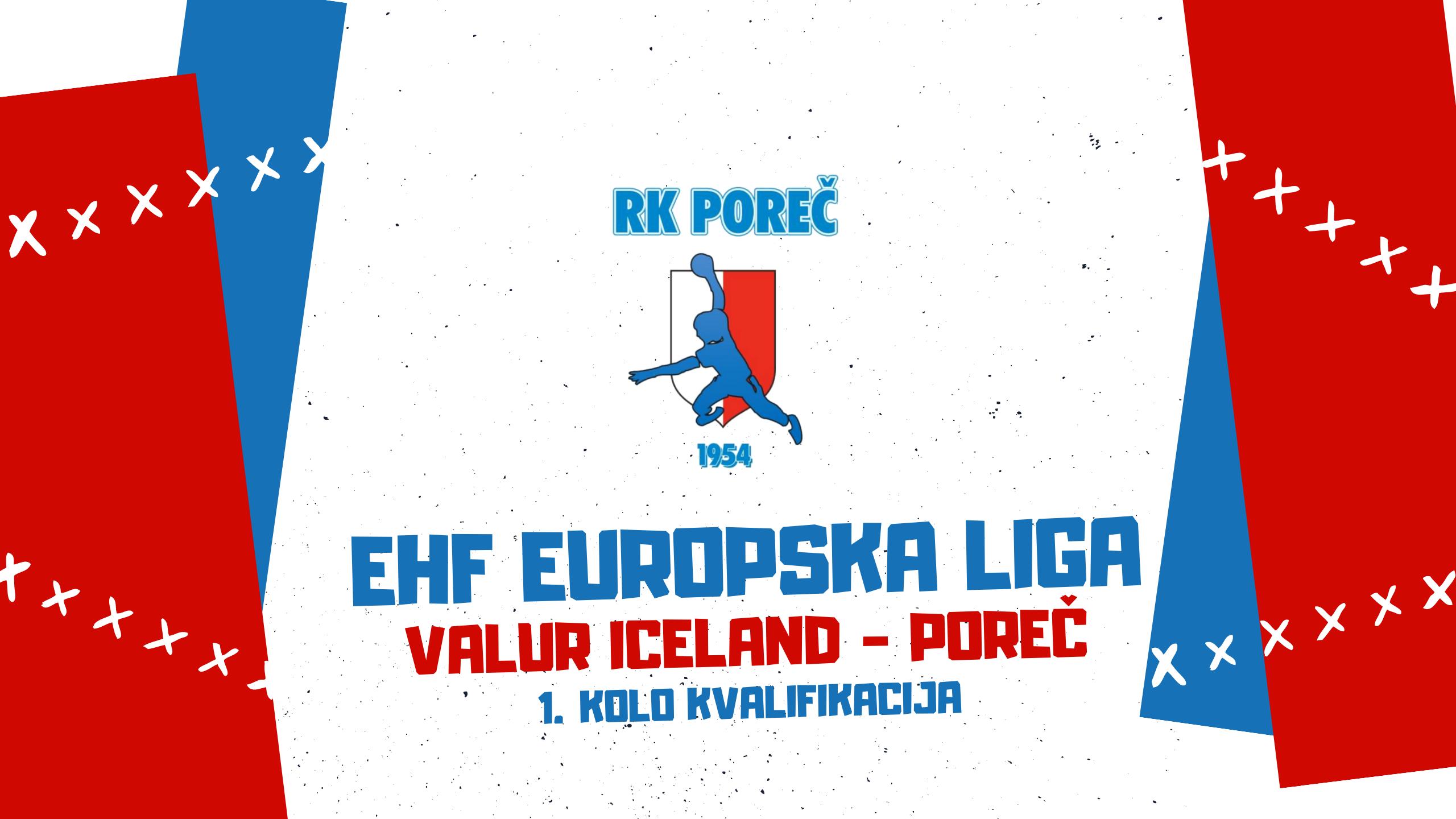 Live stream EHF EL: Valur Iceland - Poreč